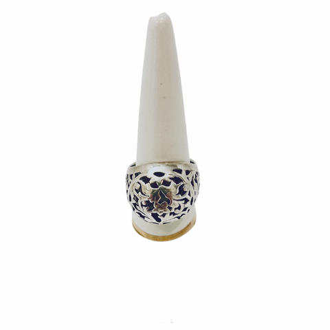 Israeli Vintage Yemenite Filigree Silver Ring - Irit Sorokin Designs Canadian handmade jewelry