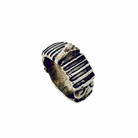 Antique Tribal Berber Silver Ring - Irit Sorokin Designs Canadian handmade jewelry