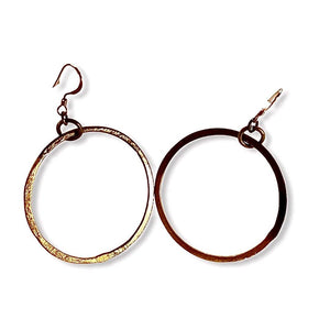 Hoop Earrings - Irit Sorokin Designs Canadian handmade jewelry
