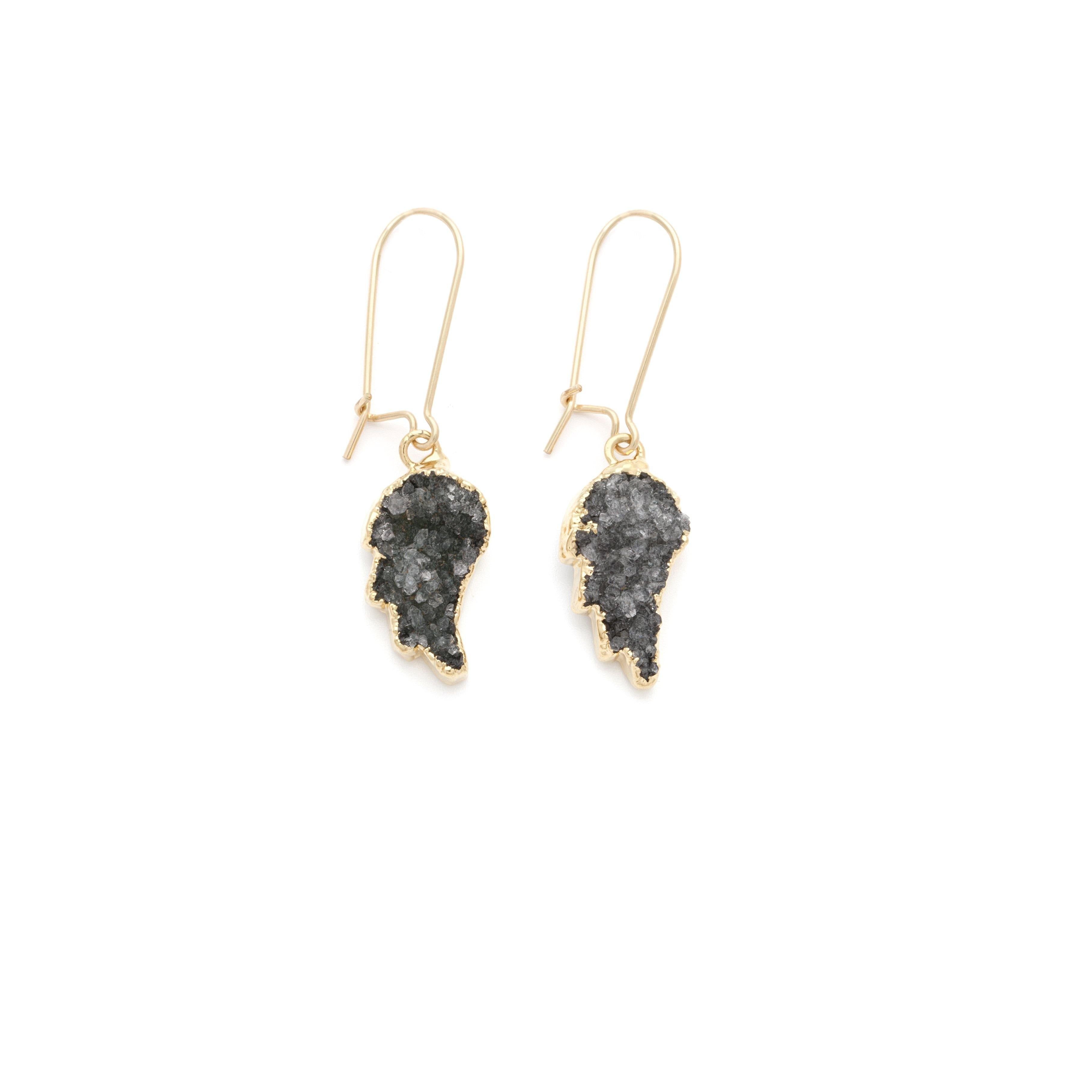 Angel Wing Earrings - Irit Sorokin Designs Canadian handmade jewelry