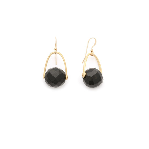 Black Onyx Earrings - Irit Sorokin Designs Canadian handmade jewelry