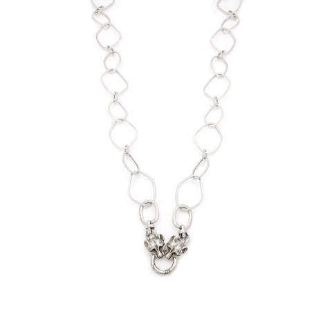 Cougar Clasp Necklace