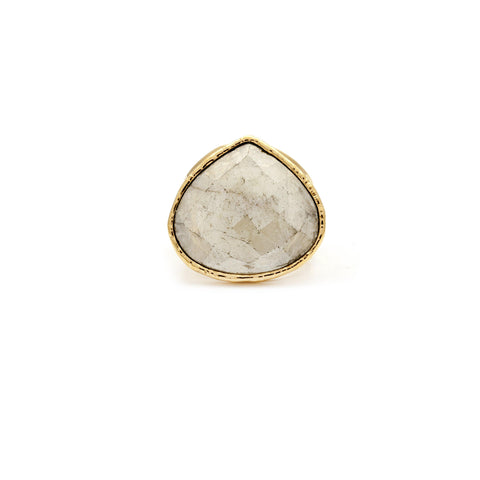 Moonstone Ring - Irit Sorokin Designs Canadian handmade jewelry
