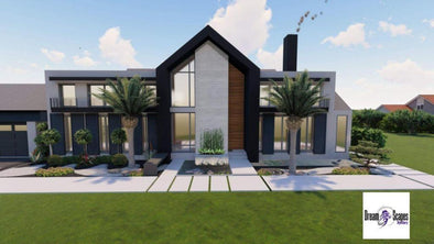 Complete Exterior Design For Contemporary Home In Boca Raton, FL
