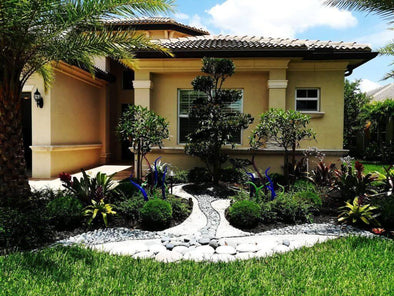 Modern Landscape Installation In Boynton Beach