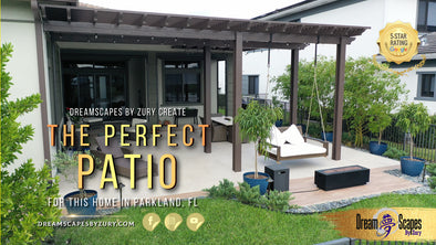 We Created The Perfect Patio For This Home In Parkland, FL