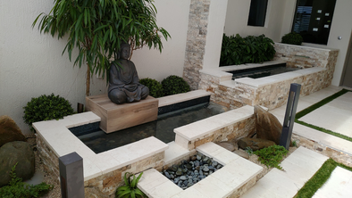 New Zen Water Feature Installed In Parkland