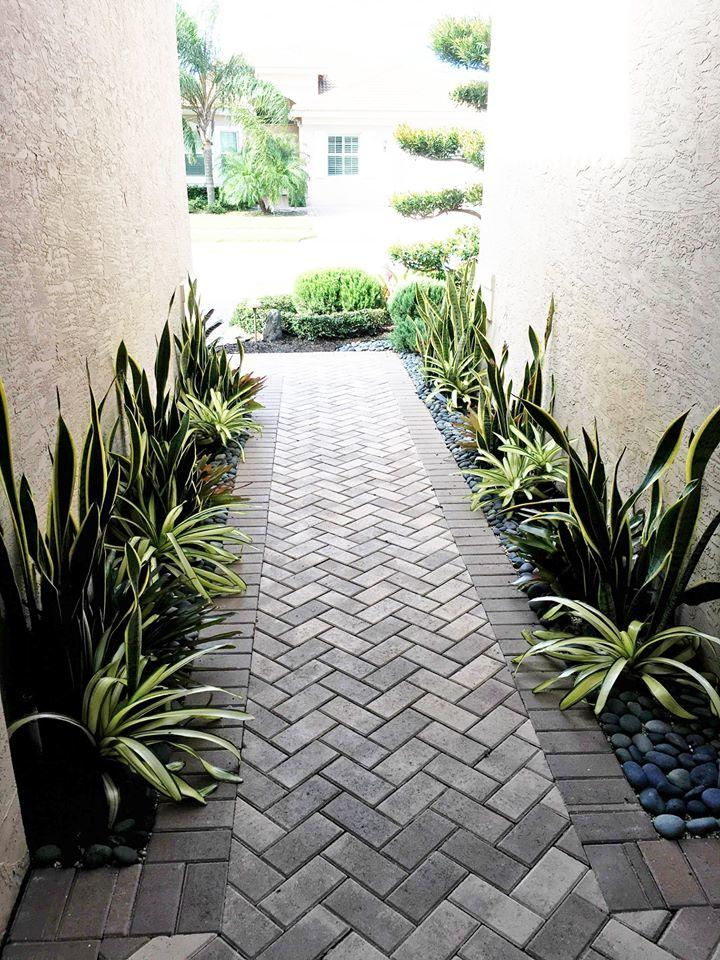 New Gorgeous Landscaping Done In Boca Raton