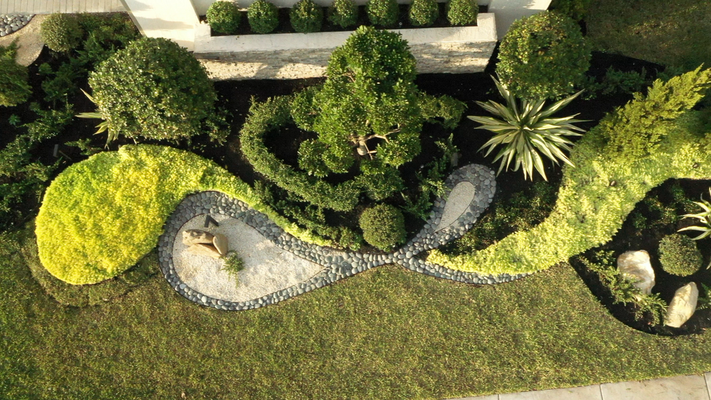 Our Latest Landscaping Job In South Florida Exemplifies Yin & Yang