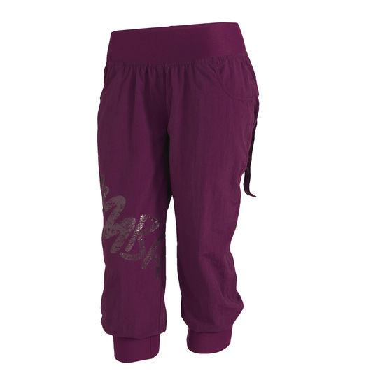 Zumba Fitness Feelin it Cargo Capri Pants - Plum