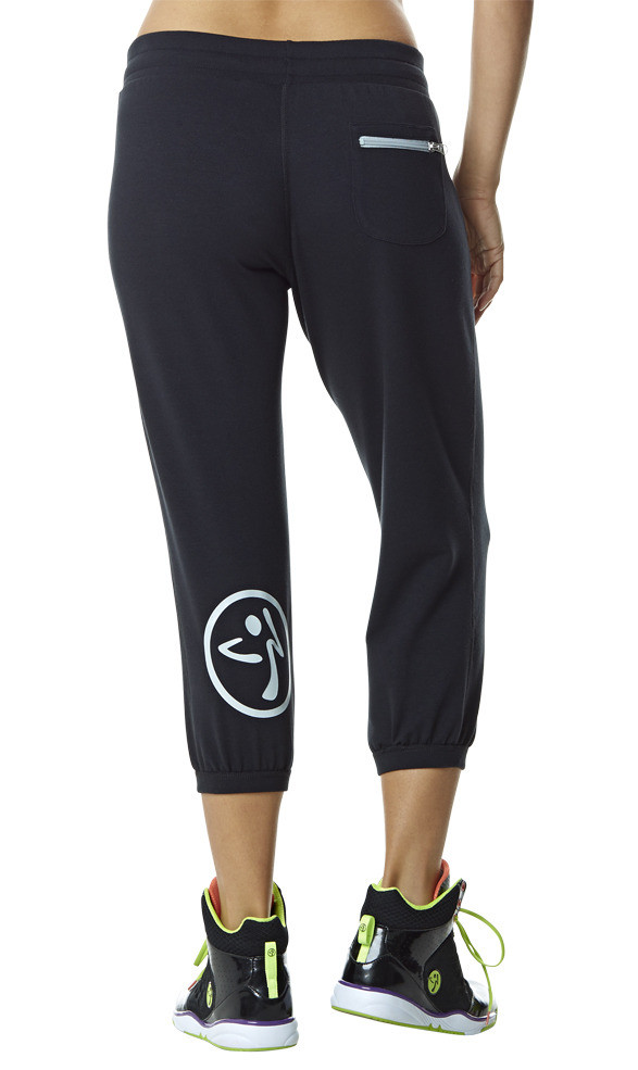Zumba Fitness Oh-So-Comfy Crave Capris - Sew Black