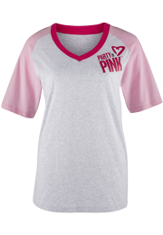 Zumba Fitness Party In Pink Baseball Tee (CLOSEOUT)