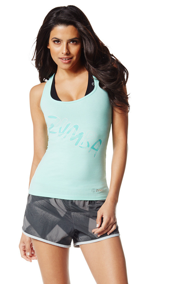 Zumba Fitness Slim Shaded Racerback - The Fog Prince (CLOSEOUT)