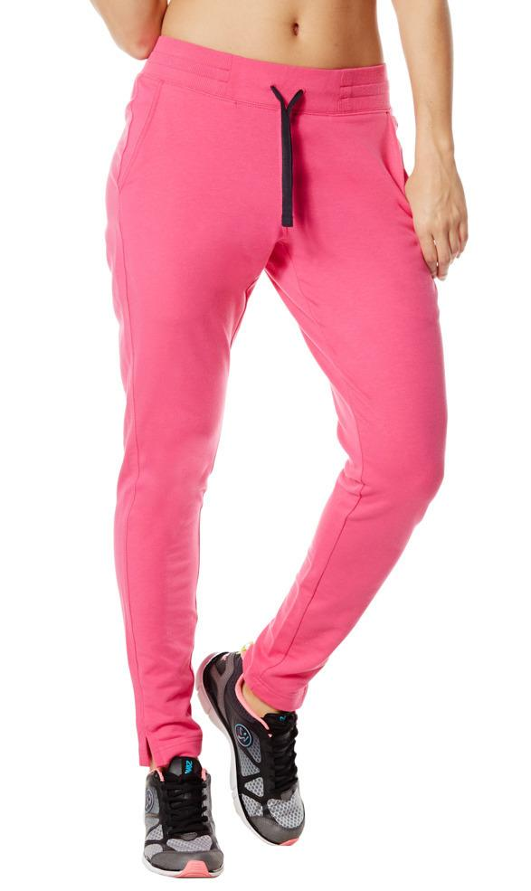 Zumba Fitness Stop In Your Track Pants - Berry (CLOSEOUT)