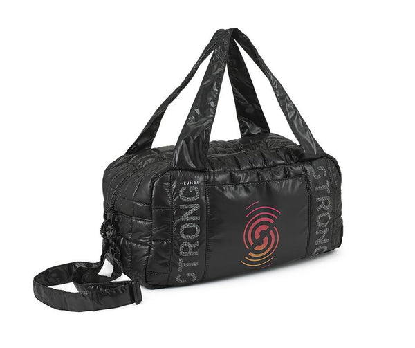 Zumba Fitness STRONG By Zumba Gym Bag - Bold Black
