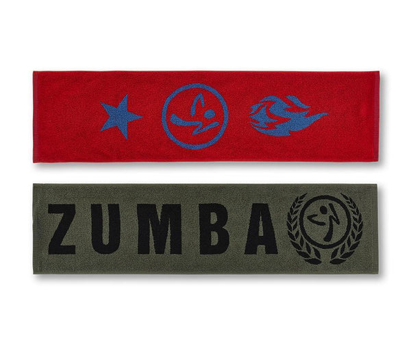 Zumba Fitness Dance League Fitness Towel