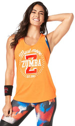 Zumba Fitness Must Move Tank - Orange You Hot