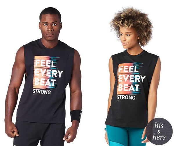 Zumba Fitness STRONG By Zumba Feel Every Beat Instructor Tank - Bold Black