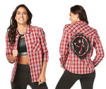Zumba Fitness Zumbito Button Down - Viva La Red