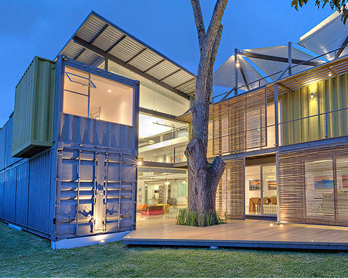 3 of the Coolest Shipping Container Homes