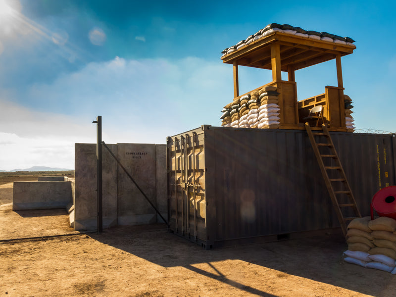 From Barracks to Barriers, Military Finding Creative Uses for Shipping Containers