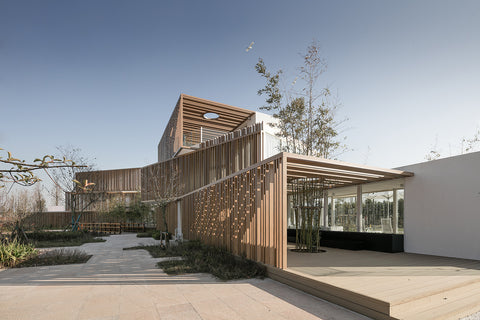 The Solid & Void, a Shipping Container Office by Yiduan Shanghai