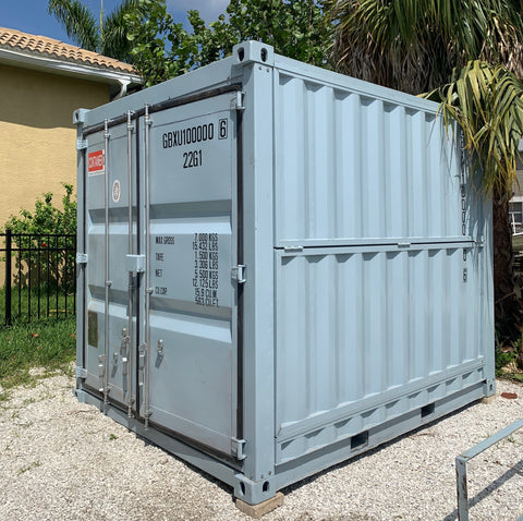 10 Foot Collapsible Shipping Container