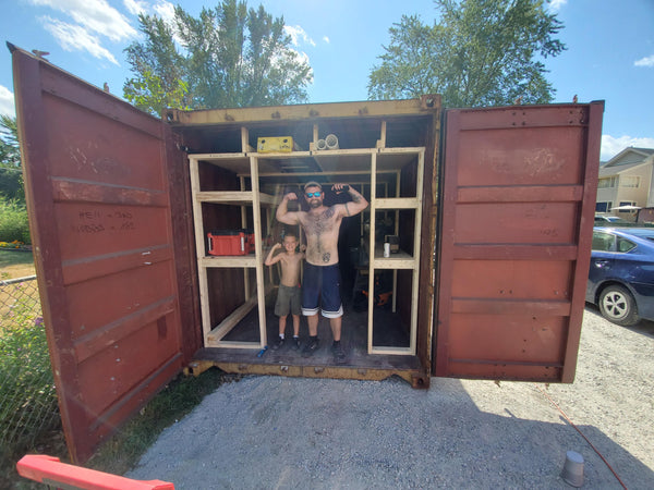 Shipping Container Fabrication