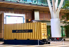 Shipping Container on Display
