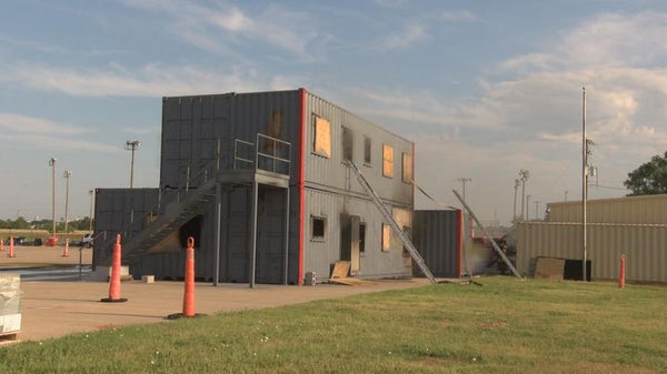 Shipping Container Training Facility