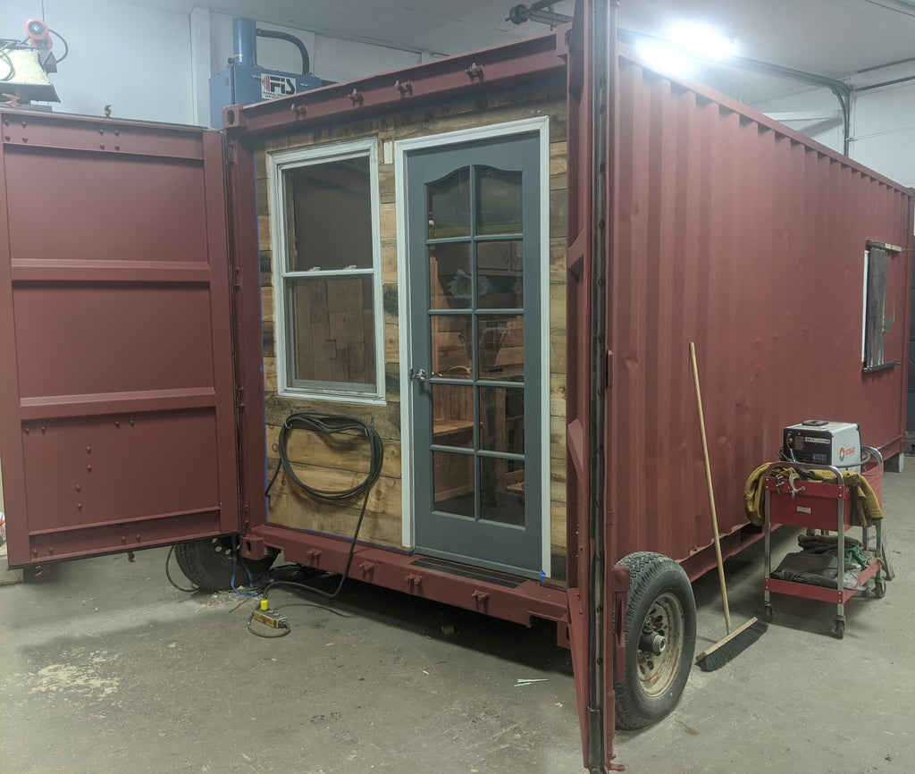 Shipping Container Mobile Cabin
