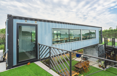 Shipping Container Home in Minnesota