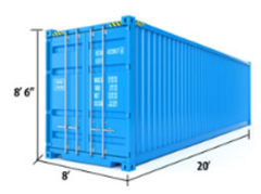20 ft Standard Container Measurements
