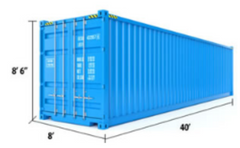 40 ft Standard Container Measurements