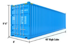 40 ft High Cube Container Measurements