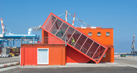 Ashdod Port Shipping Container Office Building in Israel