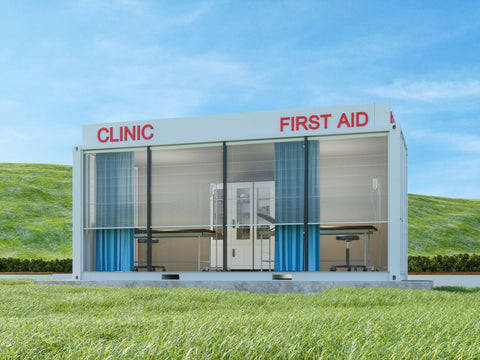 Shipping Container Medical Center