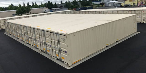 Shipping Container Self-Storage Units
