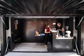 Shipping Container Coffee Can Interior