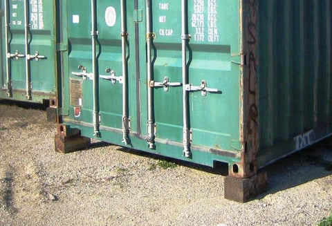 how-to-level-a-shipping-container