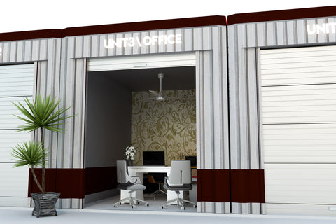Modern Shipping Container Office Space | Container One