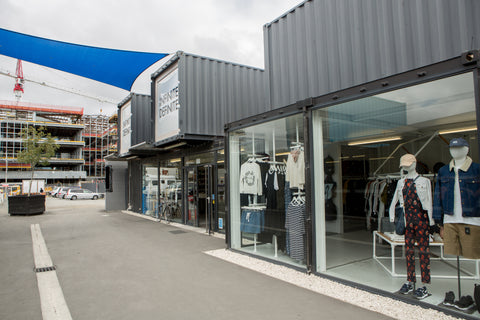 Shipping Container Pop-Up Shops for Retail Stores | Container One