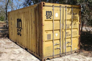 20 ft Standard AS IS (20STASIS) Shipping Container Angle View