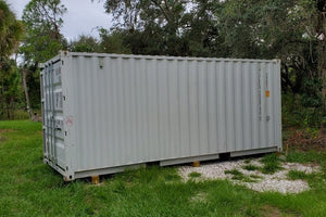 20 ft Standard 1 Trip (20ST1TRIP) Shipping Container Side View