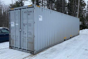 40 ft Standard 1 Trip (40ST1TRIP) Shipping Container Side View