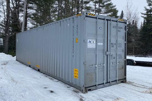 40 ft Standard 1 Trip (40ST1TRIP) Shipping Container Angle View