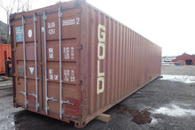 Load image into Gallery viewer, 40 ft Standard As Is (40STASIS) Shipping Container Angle View