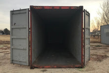 Load image into Gallery viewer, 20 ft Standard AS IS (20STASIS) Shipping Container Opening