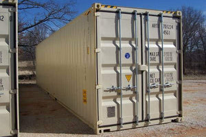 40 ft High Cube 1 Trip (40HC1TRIP) Shipping Container Left Angle View