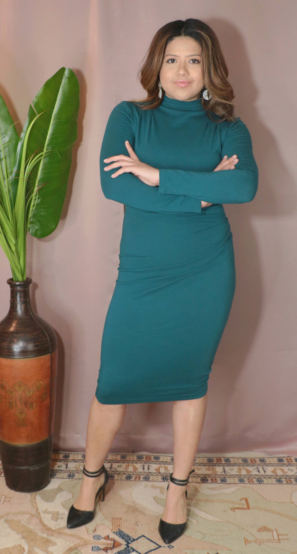 Lena dress- Teal